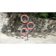 70CM三環穿越樹(含立柱)