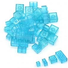 透明藍綜合積木1000公克