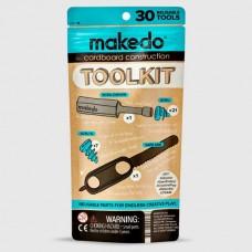 Makedo Toolkit 美度扣建築工具套件(30個零件)
